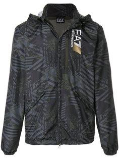 graphic sports jacket Ea7 Emporio Armani