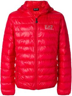 padded logo jacket Ea7 Emporio Armani