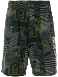 graphic deck shorts Ea7 Emporio Armani