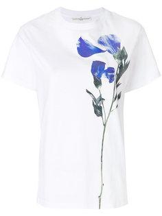 футболка с цветочным принтом Golden Goose Deluxe Brand