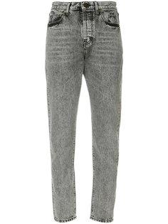 укороченные джинсы с завышенной талией  Saint Laurent