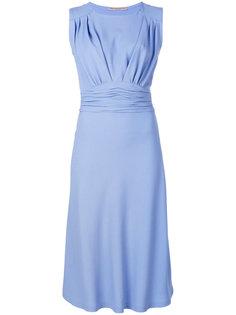платье с присборенной талией  Ermanno Scervino