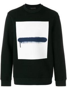 paint brush sweatshirt  Diesel Black Gold