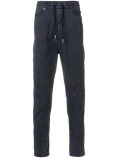 джинсы со шнурком на талии Diesel Black Gold