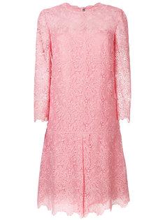 кружевное А-образное платье  Ermanno Scervino