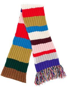 шарф в полоску Burberry