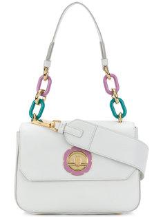 сумка на плечо с цепочной отделкой Salvatore Ferragamo