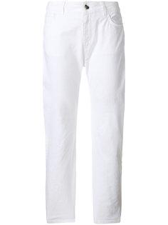 укороченные прямые джинсы Twin-Set