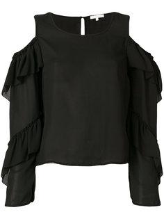 блузка с открытыми плечами  Patrizia Pepe