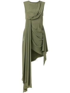 асимметричное платье  Off-White