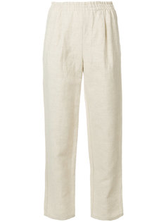 укороченные широкие брюки Forte Forte