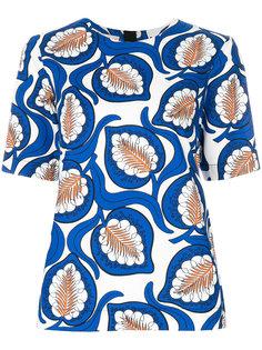 блузка с принтом desert Marni