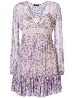 мини-платье с цветочным принтом Twin-Set