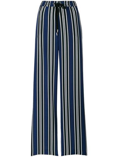 брюки-палаццо в полоску Markus Lupfer
