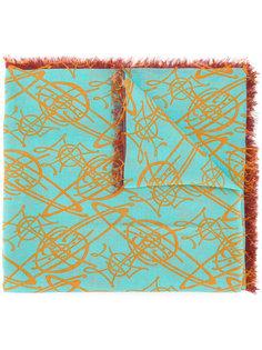 шарф с бахромой по краям Vivienne Westwood