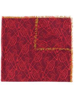 шарф с необработанными краями Vivienne Westwood