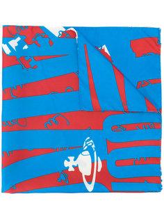 шарф с принтом Vivienne Westwood