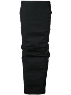 длинная юбка Pillar Rick Owens