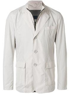 casual buttoned blazer Herno