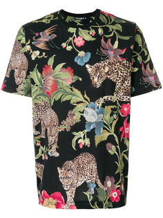 футболка с принтом леопардов Dolce & Gabbana