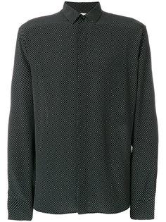 рубашка в горошек Saint Laurent