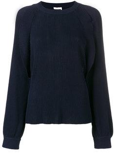 свитер ребристой вязки Chloé
