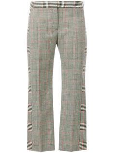 брюки в клетку Prince Of Wales Alexander McQueen