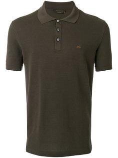 рубашка-поло с вышитой деталью Ermenegildo Zegna