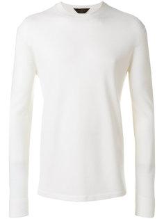 свитер с круглым вырезом Ermenegildo Zegna
