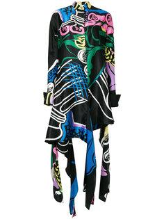 платье с принтом Foxglove JW Anderson