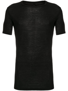sheer short sleeved T-shirt Thom Krom