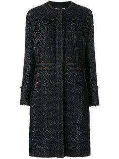 твидовое пальто Aria Tory Burch
