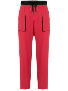 брюки со шнурком  Giorgio Armani