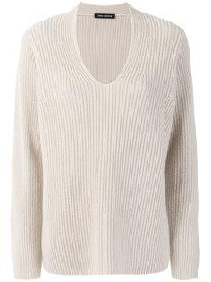 свитер с вырезом-ковш Iris Von Arnim