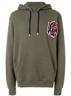 embroidered tiger hoodie Versus