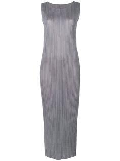 приталенное платье  Pleats Please By Issey Miyake