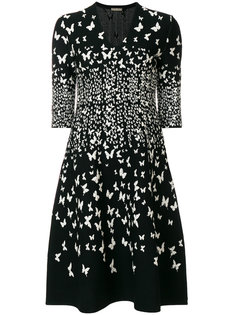 вязаное платье с бабочками Bottega Veneta