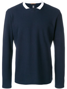 collared sweatshirt Eleventy