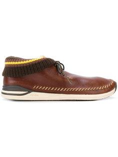 stitched detail boots Visvim