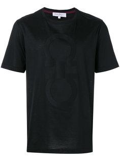 футболка double gancini Salvatore Ferragamo