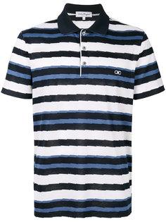 футболка-поло в полоску Salvatore Ferragamo