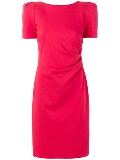 приталенное платье-миди Giorgio Armani