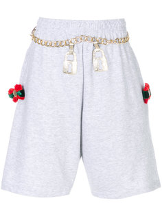 шорты с вышивкой  Nil & Mon