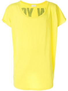 футболка с вырезом-лодочкой Faith Connexion