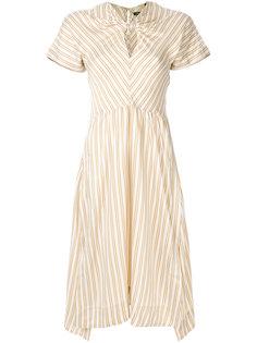 полосатое платье Iris Isabel Marant