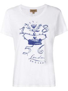 футболка с графическим принтом  Burberry