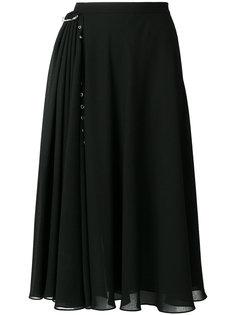 расклешенная юбка миди Versus
