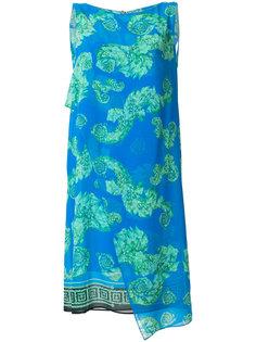 драпированное платье шифт  Versace Collection