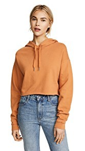 Joes Jeans x Taylor Hill Cropped Hoodie