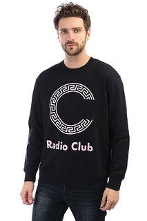 Свитшот Carhartt WIP Radio Club Logo Black/Vegas Pink